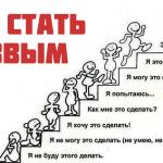 8 шагов к успеху в любом деле