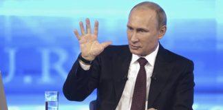 Владимир Путин на «Прямой линии» 2014