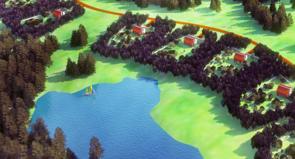 Пример поселения в рамках проекта «Малоэтажная Россия»