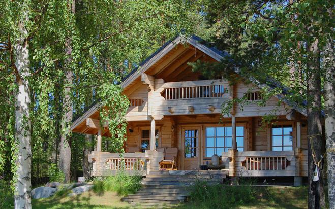 Пример дома усадебного типа