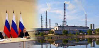 В. Путин и алюминиевый завод в Карелии