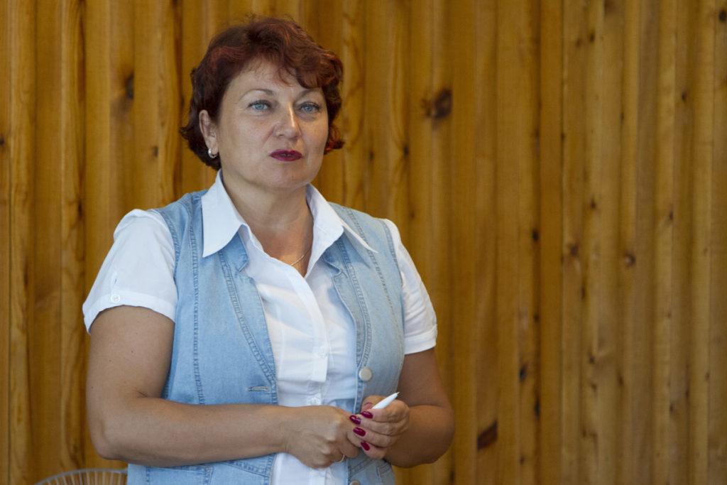 Глава администрации Питкярантского района Ольга Старикова