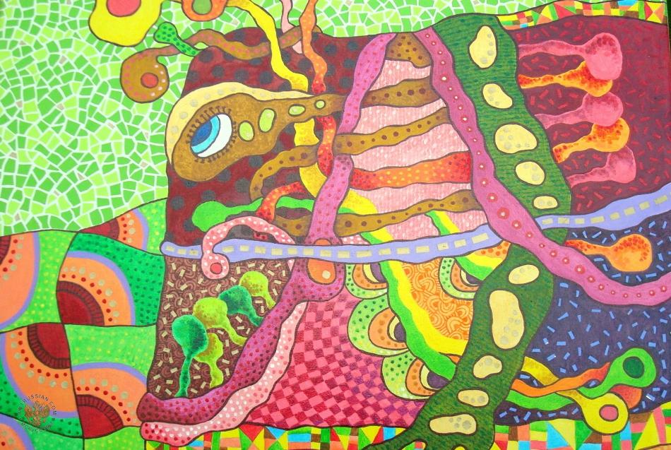 Шидловская М.В. — Мысли-Рыбы. Диптих, правая часть