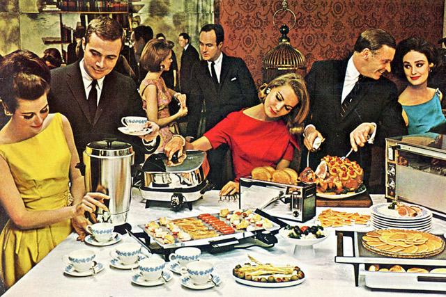 Пропагадна «эры изобилия 1960-ых» в США
