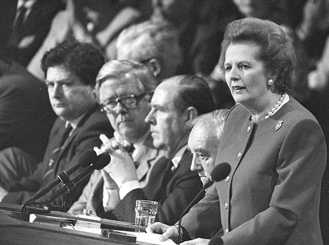 Выступление М. Тэтчер на юбилейном заседании Американского Нефтяного Института, ноябрь 1991 года
