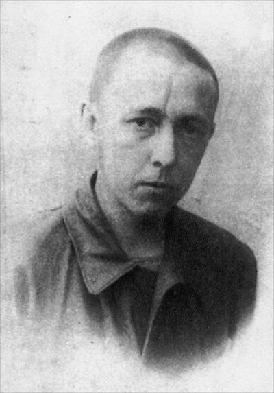 А. Солженицын в одном из лагерей ГУЛага, 1946 год
