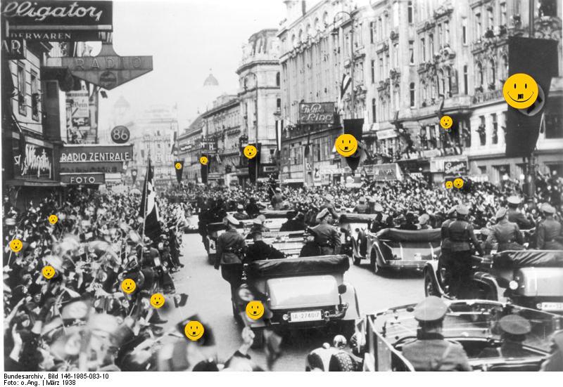 Anschluss Цsterreich, Wien