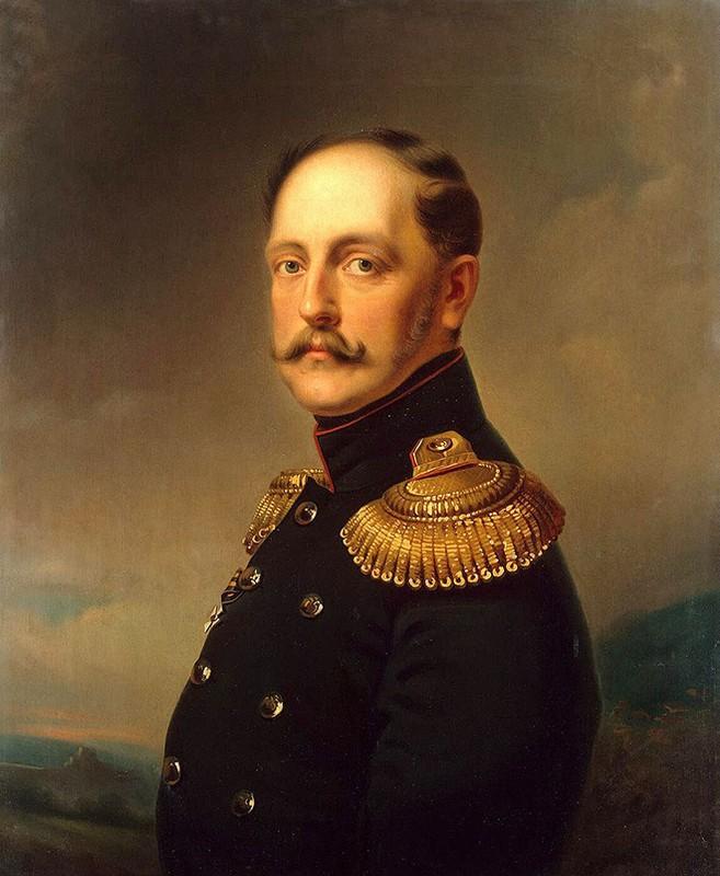 Портрет императора Николая I. Картина Ораса Верне. 1830-е годы