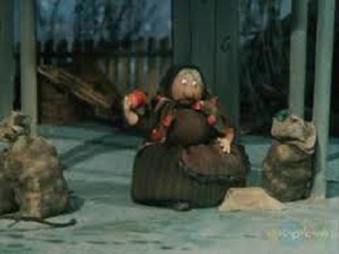 Кадр из мультфильма по сказке «Пропала совесть»