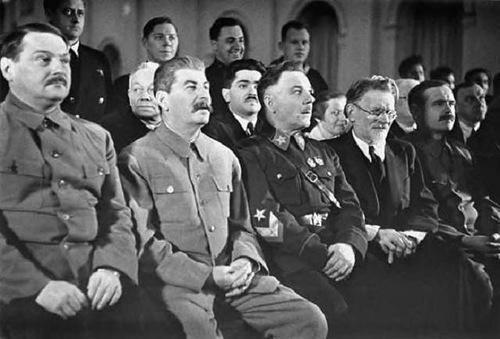 Празднование 70-летия И.В. Сталина в Большом театре