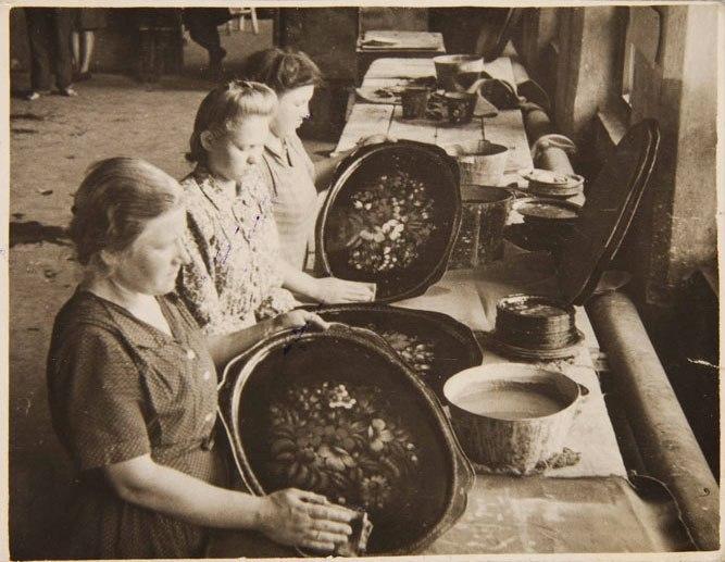Жостовская фабрика народных промыслов