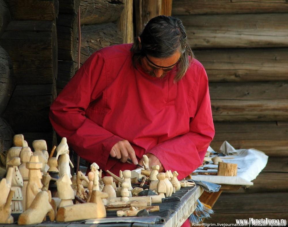 Ручной труд — основа анродных промыслов
