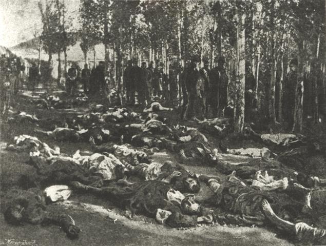 Резня в Эрзуруме, фото, 1895 год