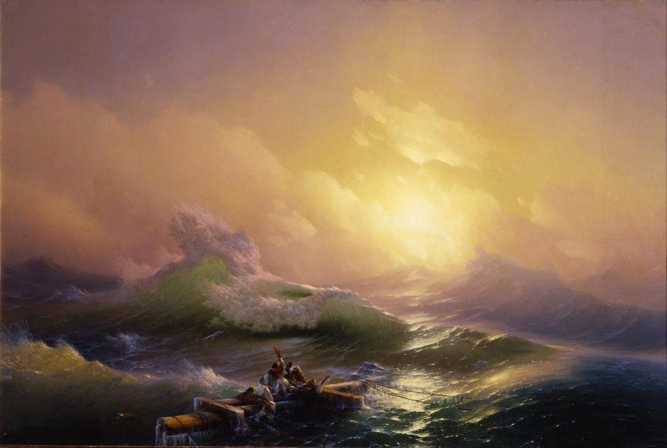 картина Айвазовского «Девятый вал» 1850-12