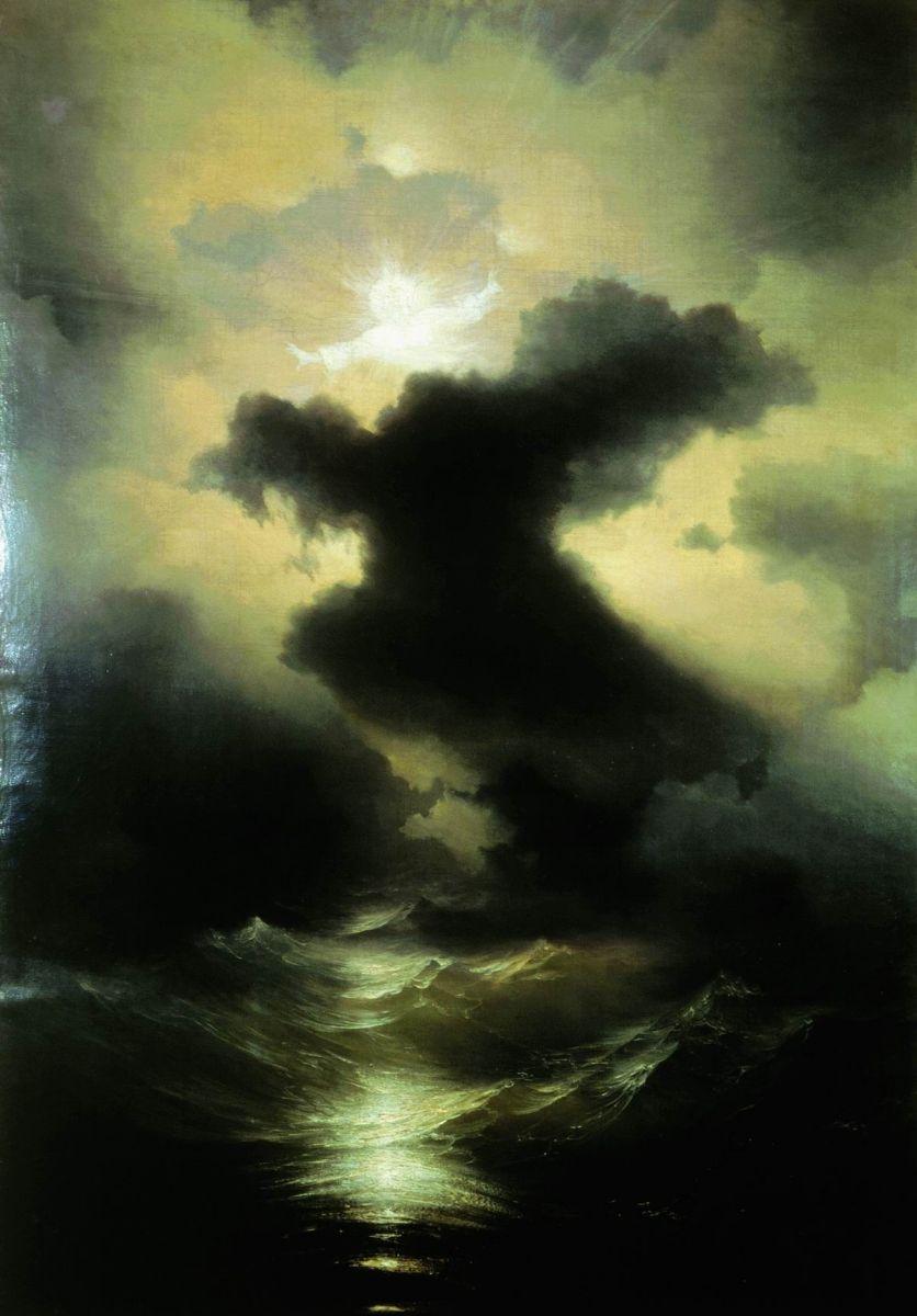 картина Айвазовского «Хаос» 1841-03