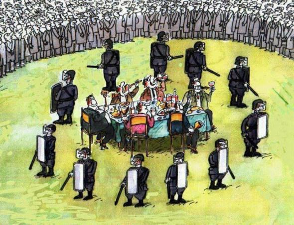 «Равенство» «элиты» и «простонародья»