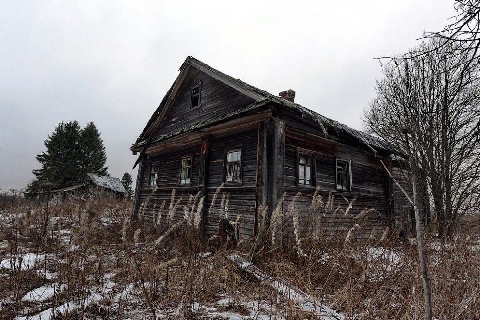 Забытые деревни Русского Севера-14