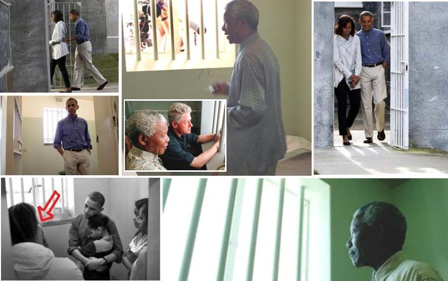 Как делались фото Нельсона Манделы в тюрьме