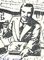 Улыбающийся мужчина в галстуке времён 1930-ых годов — элемент пост исторического пикника