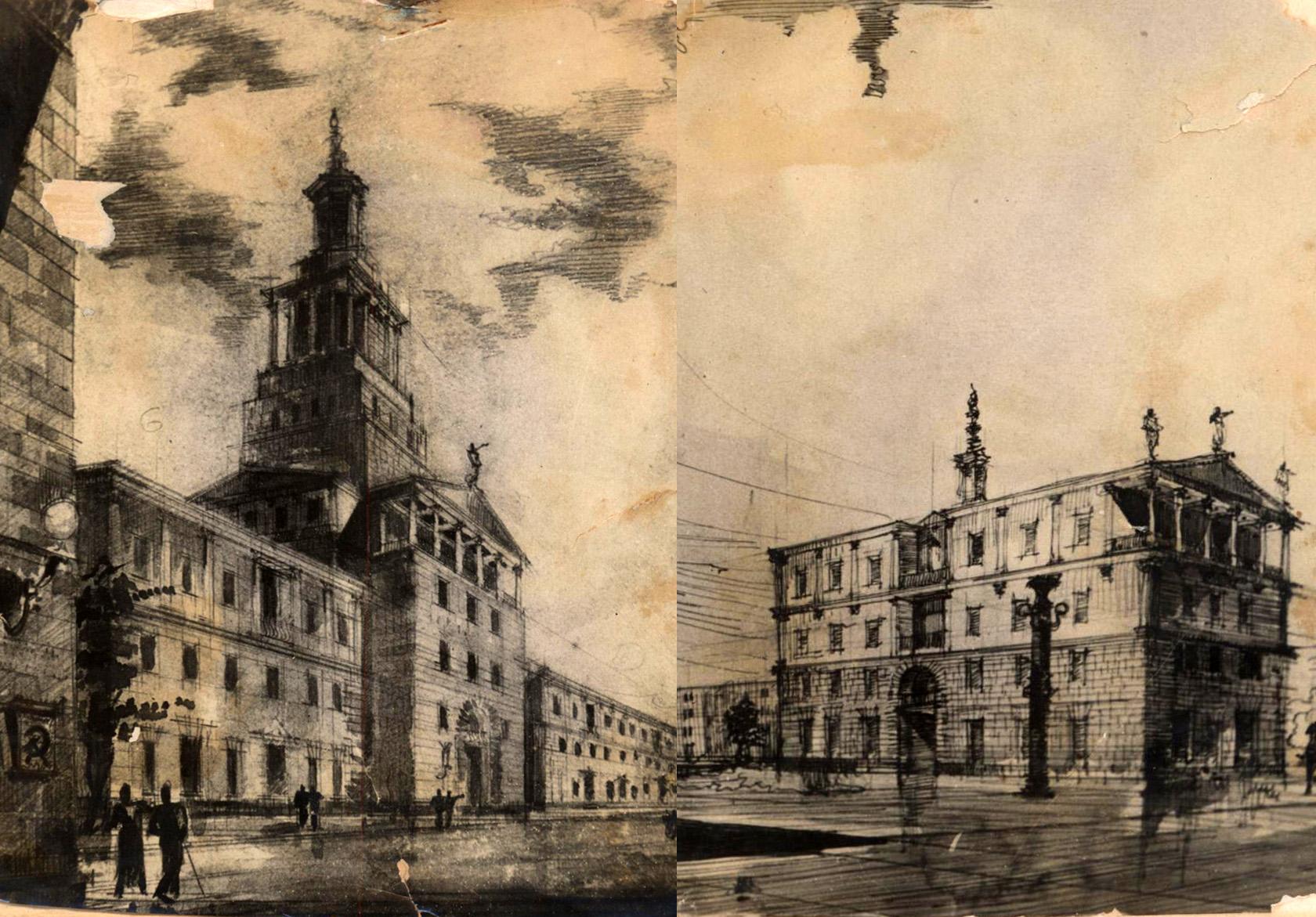 Таким видели Каспийск ленинградские архитекторы