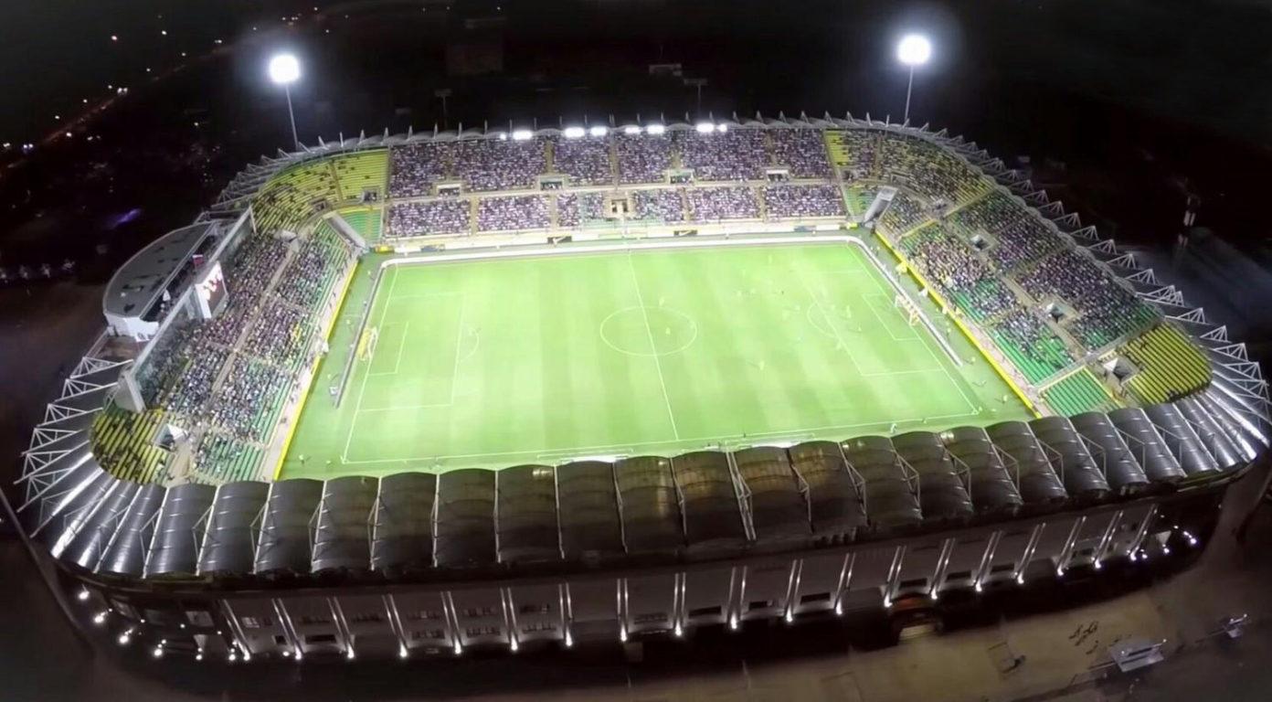 Стадион «Анжи-Арена» в Каспийске