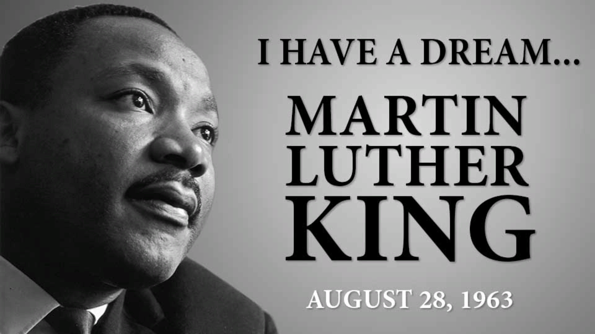Мартин Лютер Кинг « У меня есть мечта» 28 августа 1963 года