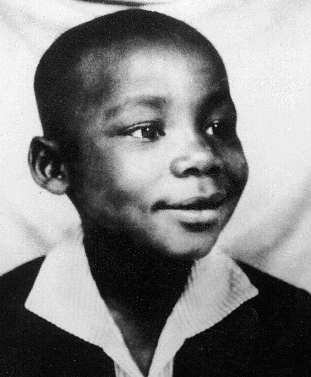 Мартин Лютер Кинг в детстве