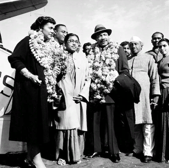 Мартин Лютер Кинг в Индии