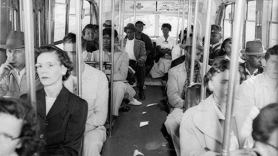 Расовая сегрегация в общественном транспорте