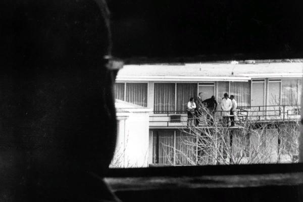 Вид из окна мотеля «Лорейн», из которого стреляли в Мартина Лютера Кинга