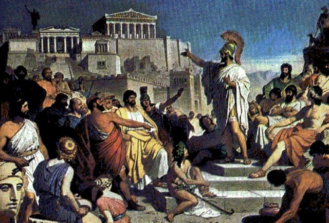 Оратор Древней Греции