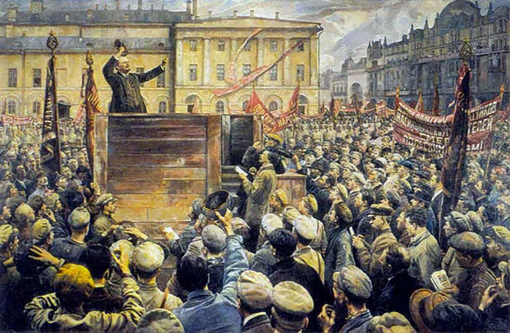 В.И.Ленин, художник И.И.Бродский