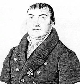 А.Ф.Мерзляков. Гравюра К.Я. Афанасьева, первая четверть XIX века