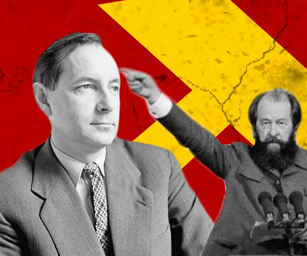 В.Кочетов и А.Солженицын